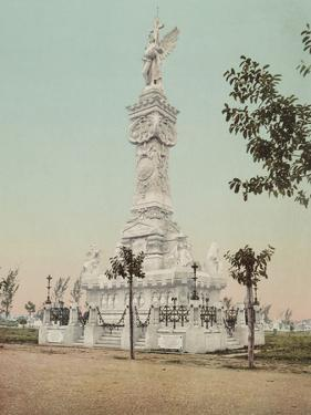Monumento a Los Bomberos, Havana by William Henry Jackson
