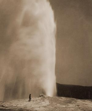 Old Faithful, 1870 by William Henry Jackson