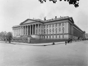 U.S. Treasury, Washington, D.C., 1880 by William Henry Jackson