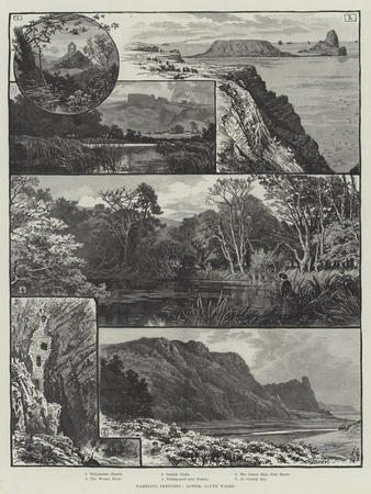Rambling Sketches, Gower, South Wales
