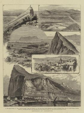 Sketches at Gibraltar by William Henry James Boot