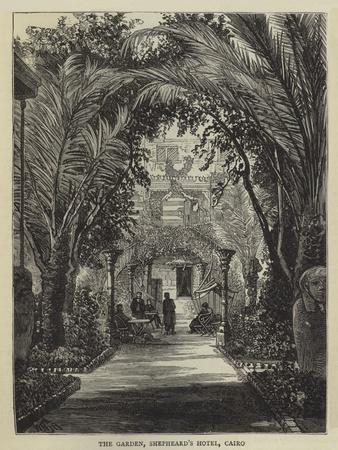 The Garden, Shepheard's Hotel, Cairo