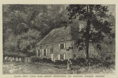 William Penn's Burial Place, Jordans Meeting-House and Graveyard, Ruscombe, Berkshire