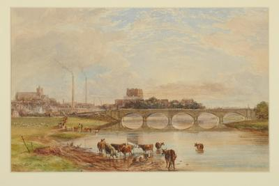 Carlisle from the Sands, 1868