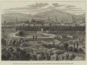 The War in South America, Lima, the Capital of Peru, Captured by the Chilian Army by William Henry Pike