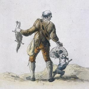 A Rat Catcher, Provincial Characters, 1804 by William Henry Pyne