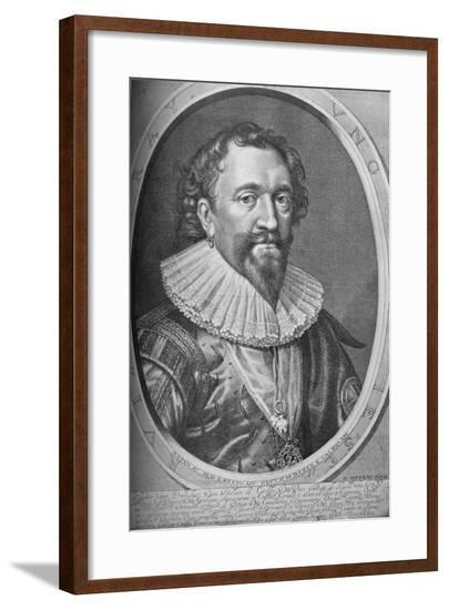 William Herbert, Third Earl of Pembroke, 17th century, (1923)-Robert van Voerst-Framed Giclee Print
