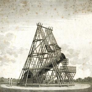 William Herschel's Forty-Foot Telescope