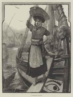 A Fisher-Girl of Lisbon by William Heysham Overend