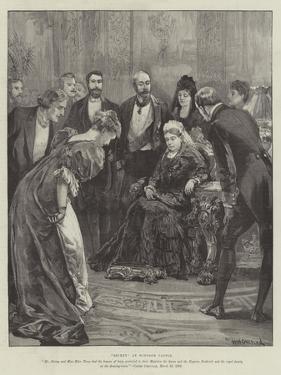 Becket, at Windsor Castle by William Heysham Overend