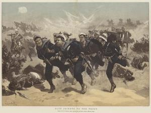 Blue Jackets to the Front by William Heysham Overend