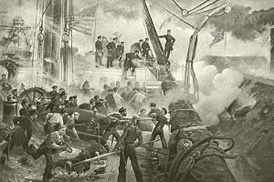 Farragut at Mobile Bay by William Heysham Overend
