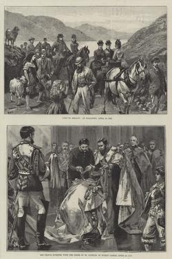 Royal Visit to Ireland by William Heysham Overend