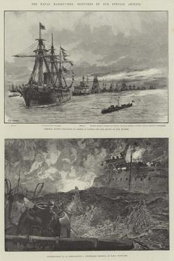 The Naval Manoeuvres by William Heysham Overend