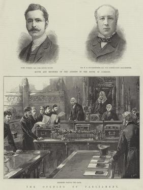 The Opening of Parliament by William Heysham Overend