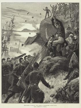 The State of Ireland, the Affray at Belmullet, County Mayo by William Heysham Overend