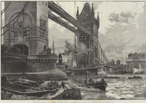 The Tower Bridge by William Heysham Overend
