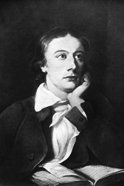 John Keats, English Poet, 19th Century by William Hilton