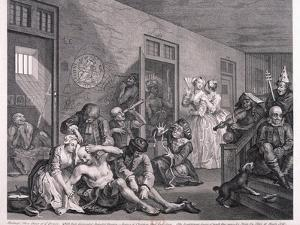 A Rake's Progress, 1763 by William Hogarth