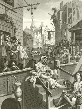 Beer Street and Gin Lane by William Hogarth