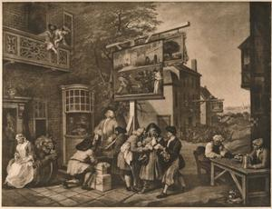 'Canvassing for Votes', Plate II from 'The Humours of an Election', 1757 by William Hogarth