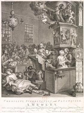 Credulity, Superstition and Fanaticism. a Medley, 1762 by William Hogarth