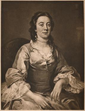 'Frances Arnold', 1738-1740 by William Hogarth