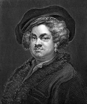 John Pine by William Hogarth