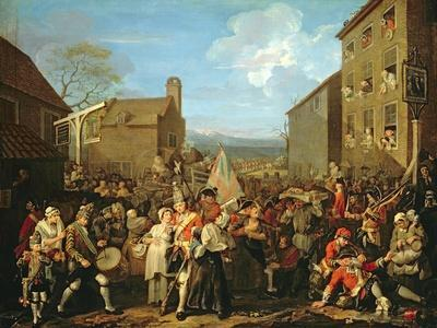 March of the Guards to Finchley, 1750