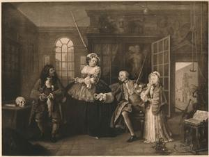 'Marriage A-la-Mode: 3. The Inspection', c1743 by William Hogarth