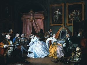Marriage A-La-Mode: 4, the Toilette, 1743 by William Hogarth