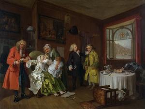 Marriage a La Mode: Vi, the Lady's Death, C.1743 by William Hogarth