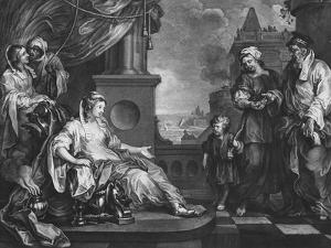 Moses Brought to Pharoah's Daughter, C.1752 by William Hogarth