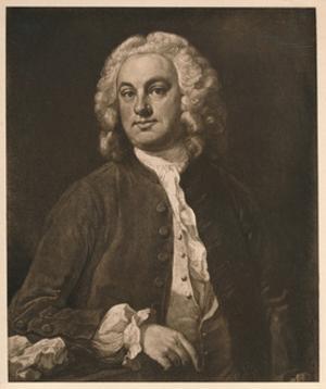 'Portrait of a Man', 1741 by William Hogarth