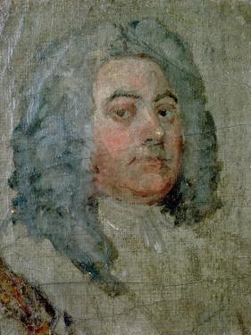 Portrait of George Frederick Handel (1685-1759) by William Hogarth