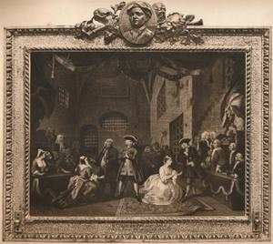 'Scene from the The Beggar's Opera VI', 1731 by William Hogarth