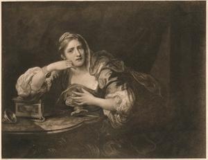 'Sigismunda Mourning over the Heart of Guiscardo', 1759 by William Hogarth