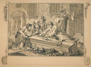 Sketch for 'Industry and Idleness' - Plate III, 1747 by William Hogarth