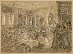Sketch for 'Industry and Idleness' - Plate VIII, 1747 by William Hogarth