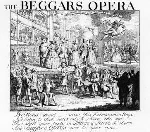 The Beggar's Opera Burlesqued, 1728 by William Hogarth