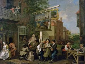 The Election II: Canvassing for Votes, 1754-55 by William Hogarth