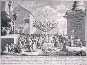 The South Sea Bubble, 1721 by William Hogarth