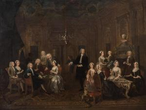 The Wollaston Family, 1730 by William Hogarth