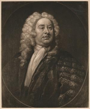 'Thomas Pellet, MD', c1725 by William Hogarth