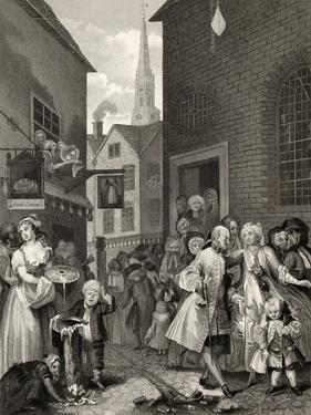 Times of the Day: Noon, from 'The Works of William Hogarth', Published 1833 by William Hogarth