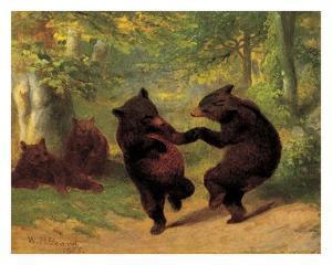 Dancing Bears by William Holbrook Beard