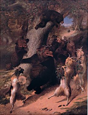 March of Silenus by William Holbrook Beard