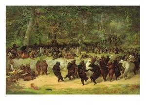 The Bear Dance by William Holbrook Beard