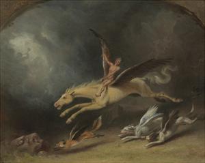 The Fox Hunter's Dream by William Holbrook Beard