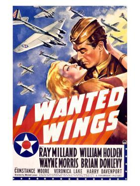 William Holden WWII, AFF Wings